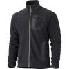 Marmot Alpinist Tech Fleece Jacket - Mens Black/Dark Granite, S - HASH(0xe76314b0)
