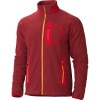 Marmot Alpinist Tech Fleece Jacket - Mens Brick/Team Red, L - HASH(0xe76314b0)