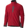 Marmot Front Range Fleece Jacket - Mens Brick/Dark Granite, L - HASH(0xe83601e0)