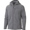 Marmot Norhiem Fleece Hooded Jacket - Mens Cinder, L - HASH(0xe838d8e0)