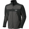 Mountain Hardwear Mountain Tech Jacket - Mens Titanium/Shark, S - HASH(0x25da5fa8)