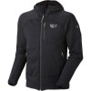Mountain Hardwear Desna Fleece Jacket - Mens Black, XXL - Hardshell,Polartec,power stretch,stretch fleece,balakalava hood