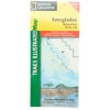 photo: National Geographic Everglades National Park Map