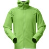Norrona /29 Warm1 Fleece Hooded Jacket - Mens Bamboo Green, XL - recycled fleece jackets,recycled polyester fleece,polartec fleece