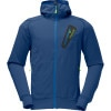 Norrna /29 Warm2 Hooded Fleece Jacket - Mens Space, S - underwear,fleece,base,layer,midweight