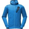 Norrona /29 Warm2 Hooded Fleece Jacket - Mens Too Blue, L - underwear,fleece,base,layer,midweight