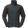 Norrna Trollveggen Warm2 Fleece Jacket - Mens Ebony, XL - HASH(0xff129c90)