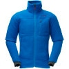 Norrna Trollveggen Warm2 Fleece Jacket - Mens Lake Blue, XXL - HASH(0xff129c90)