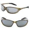 Native Eyewear Silencer Interchangeable Sunglasses - Polarized Moss/Silver Reflex, One Size