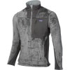 Patagonia R3 Hi-Loft Fleece Jacket - Mens Nickel, L - fleece jacket,men's fleece jacket,layering piece,fleece