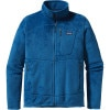 Patagonia R2 Fleece Jacket - Mens Bandana Blue, L - R2 Fleece Jackets,polartec fleece jackets,mens jackets,midweight fleece jackets,skiing layers