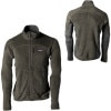 Patagonia R2 Fleece Jacket - Mens Forge Grey, L - R2 Fleece Jackets,polartec fleece jackets,mens jackets,midweight fleece jackets,skiing layers