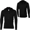 Patagonia R1 Hooded Fleece Pullover - Mens Black, S - R1 base layer,baselayers,wicking shirt,insulating shirts,mens long johns
