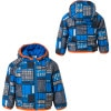 Patagonia Puff-Ball Reversible Jacket - Infant Boys' Block Print Prussian Blue, 3T