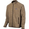 Patagonia Better Sweater Fleece Jacket - Mens Pale Khaki, L - fleece jacket,fleece top,200 weight fleece
