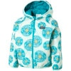 Patagonia Puff-Ball Reversible Jacket - Toddler Girls' Dandelion Turquoise, 2T