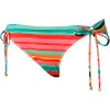 Roxy Wave Frenzy Lowrider Tie Side Bikini Bottom - Women's