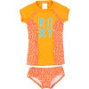 Roxy Sand Blossom Rashguard Set - Toddler Girls'