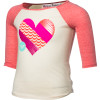Roxy Live Love Shirt - 3/4-Sleeve - Girls'