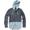 Quiksilver Left Foot Hooded Shirt - Long-Sleeve - Men's