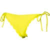 Roxy Sun Dancer Scalloped Brazilian String Bikini Bottom - Women's