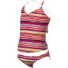 Roxy Sea Side Cross Over Swimsuit - Girls'