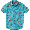 Quiksilver Boogie Blades Shirt - Short-Sleeve - Men's