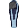 The North Face Aleutian Bx Sleeping Bag: 20 Degree Heatshield - Women's Tofino Blue/Depth Charge Blue, Long/Right Zip