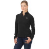 The North Face TKA 100 Microvelour Glacier 1/4-Zip Fleece Pullover - Women's Tnf Black, M
