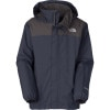 The North Face Resolve Jacket - Boys Cosmic Blue, XS - kids' rain jacket,kids' hiking jacket,kids' wind shell,youth rain jacket,kids' summer jacket