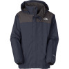 The North Face Resolve Jacket - Boys Cosmic Blue, L - kids' rain jacket,kids' hiking jacket,kids' wind shell,youth rain jacket,kids' summer jacket