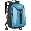The North Face Surge Backpack - Women's - 1830cu in Asphalt Grey/Diamond Blue, One Size
