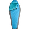 The North Face Cat's Meow Sleeping Bag: 20 Degree Synthetic - Women's Blitz Blue, Reg/Right Zip
