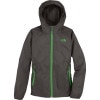 The North Face Altimont Hooded Jacket - Boys Graphite Grey/Arden Green, XS - HASH(0x172ad85c8)