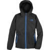 The North Face Altimont Hooded Jacket - Boys Tnf Black/Nautical Blue, XS - HASH(0x172ad85c8)