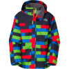 The North Face Printed Resolve Jacket - Boys Fiery Red Print, L - HASH(0x175ea54f8)