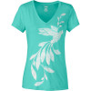 The North Face Janalee V-Neck Burn Out T-Shirt - Short-Sleeve - Women's