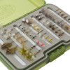 Umpqua Eastern Trout Fly Selection with UPG Fly Box Detail