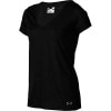 Under Armour Heatgear Achieve Burnout Shirt - Short-Sleeve - Women's