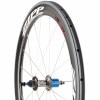 Zipp Speed Weaponry 404 Firecrest Carbon Wheel - Tubular 2012 Falcon Grey, Rear/Shimano