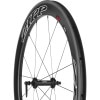 Zipp Speed Weaponry 404 Firecrest Carbon Clincher Black, 700c Front