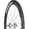 Zipp Speed Weaponry 404 Firecrest Track Tubular White, 700c Front
