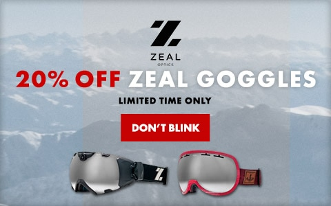 Zeal 20% Off Sale
