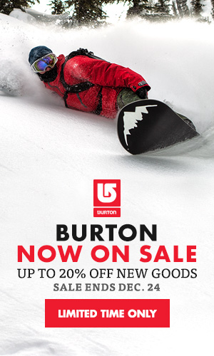 Burton 40% Off Sale