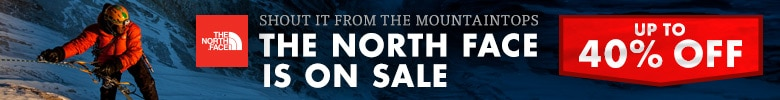The North Face Up To 40% Off Sale