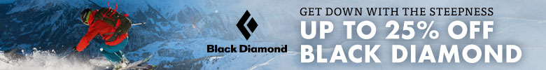 Black Diamond 25% Off Sale