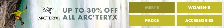 Arc'teryx Up To 30% Off Sale
