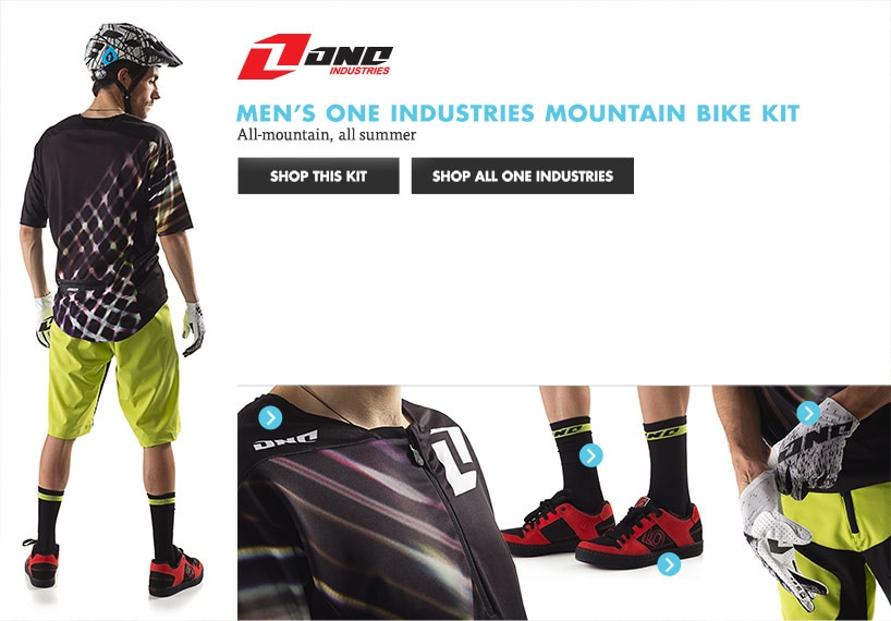 Mens One Mountain Bike Kit