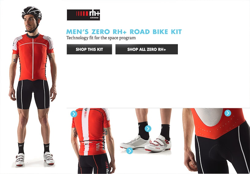 Mens Zero RH Road Bike Kit
