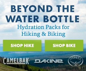 Hike and Bike Hydration Packs
